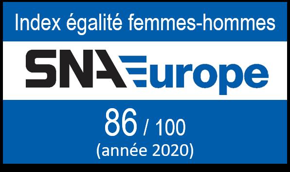 SNA Europe France - Index égalité femmes-hommes 2020