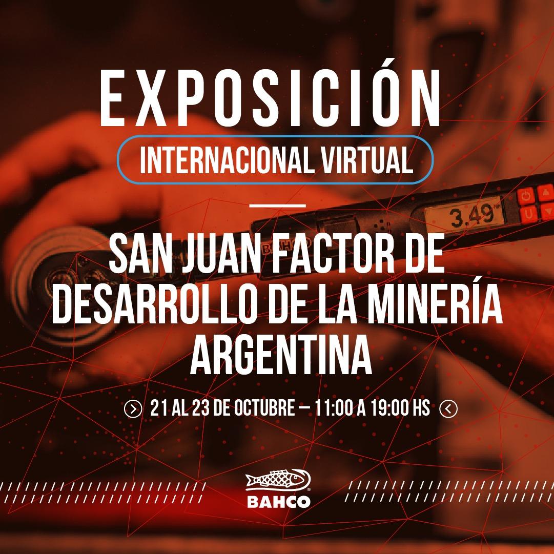Exposición virtual San Juan Minera 2020