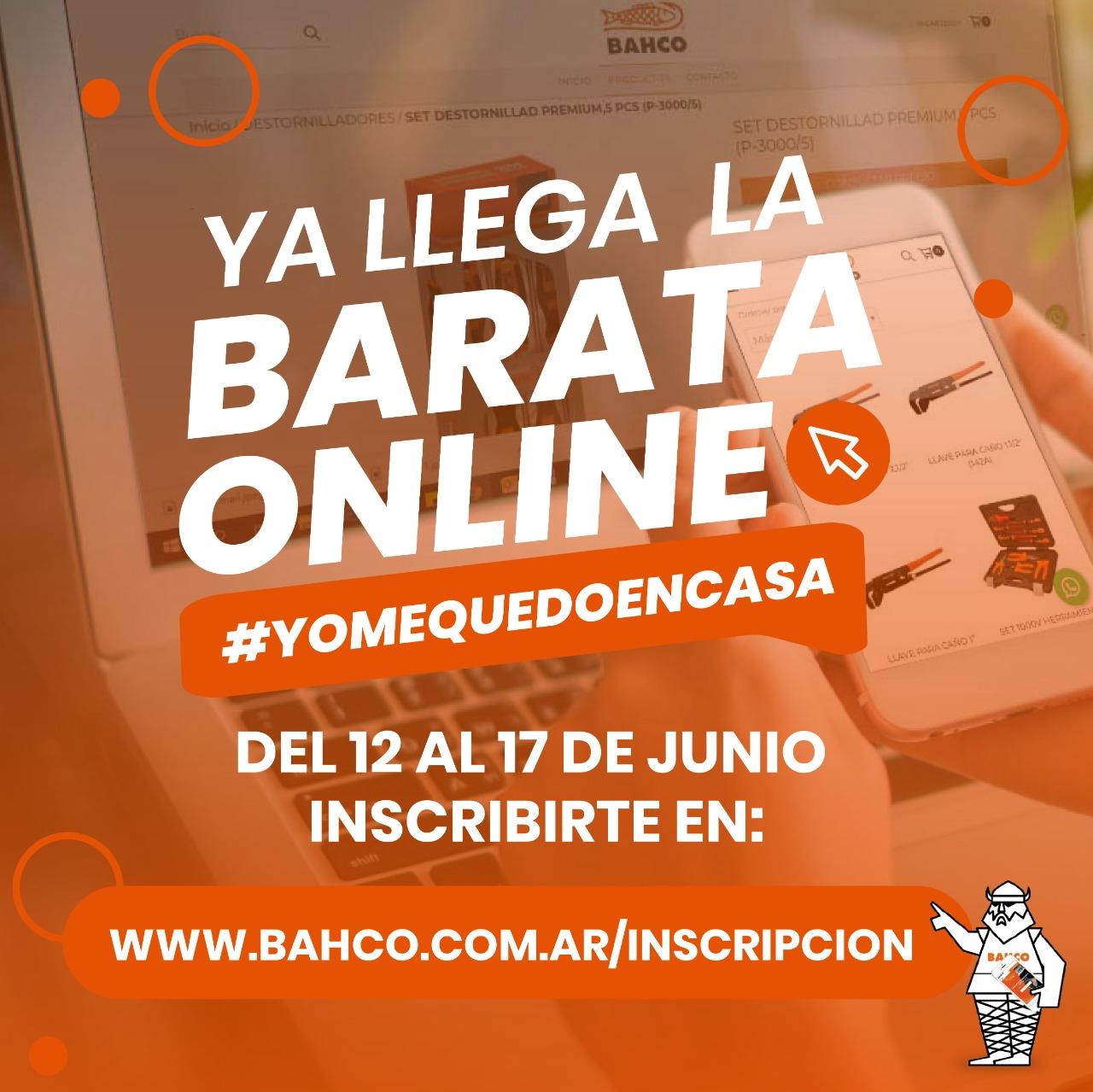 Comienza la barata online de BAHCO