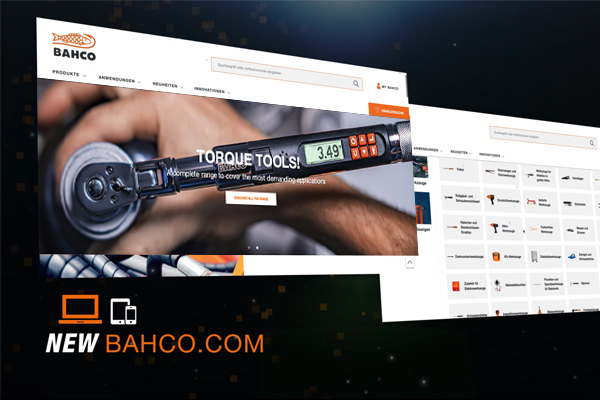 New Bahco website is live!