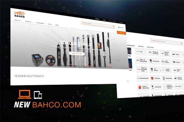 Die neue Bahco-Website ist online!