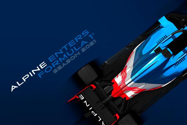 ALPINE F1® TEAM ENTERS FORMULA 1
